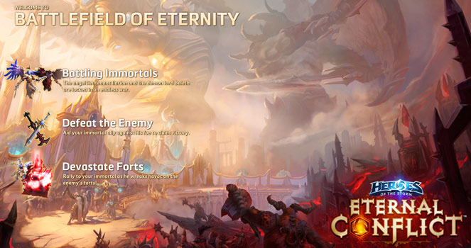 BATTLEFIELD OF ETERNITY (ETERNAL CONFLICT)